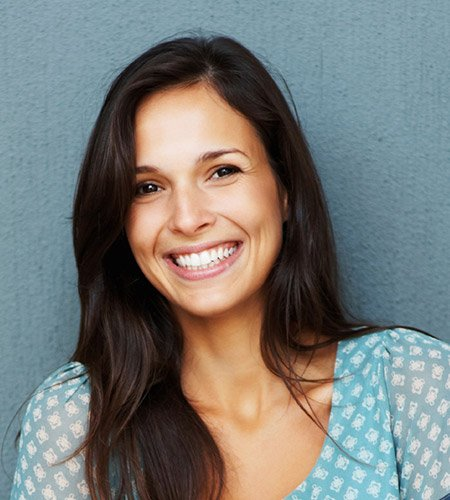 Woman with healthy beautiful smile
