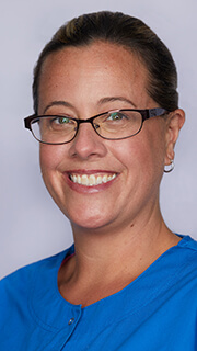 Head shot of Jackie Frizzell registered dental hygienist